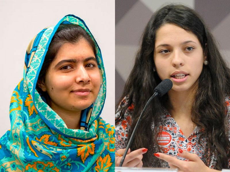 Malala e Ana Julia