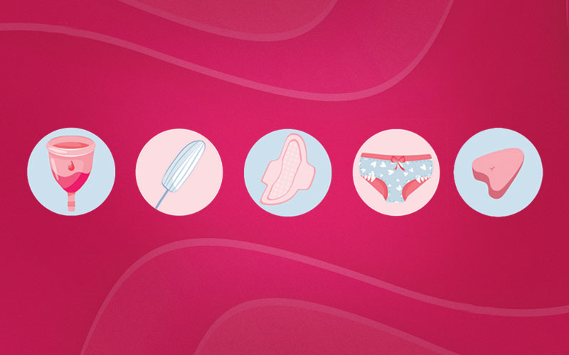 Menstruação sem vergonha e sem tabu