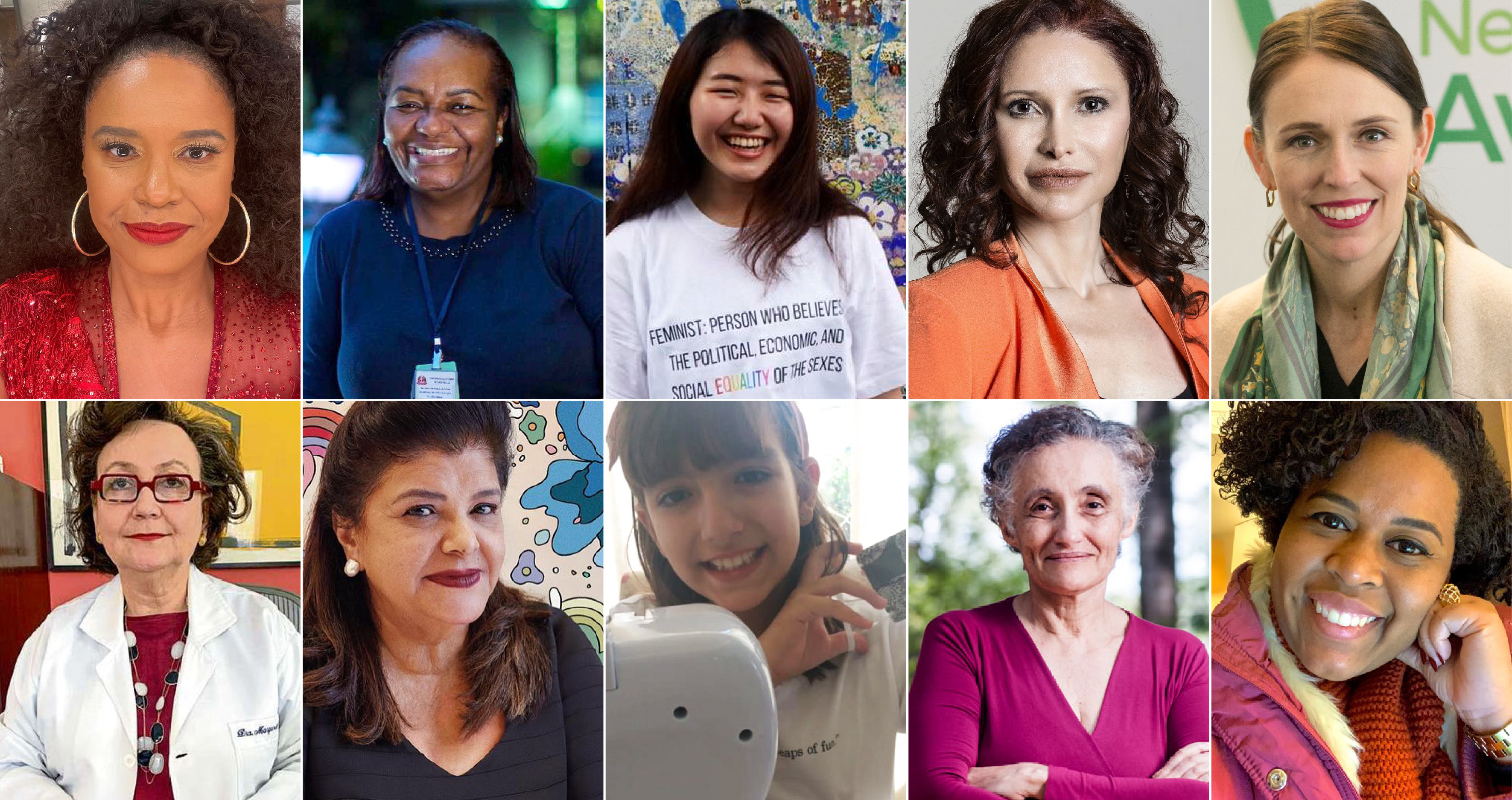 Conheça 10 mulheres e meninas que fizeram a diferença durante a pandemia